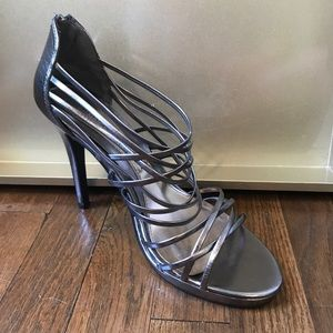 Metallic Chinese Laundry Heels